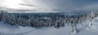 Панорама на подъёме на Сивулю