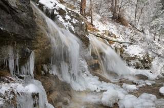 Водопад Яузлар (верхний, по-моему)