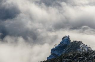 Ставри-Кая парит над облаками